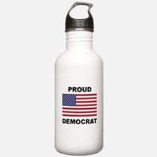 Democrat Pride (Flag) Water Bottle