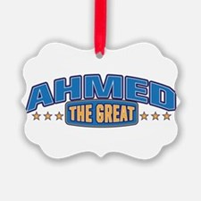 The Great Ahmed Ornament