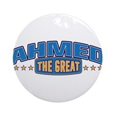 The Great Ahmed Ornament (Round)
