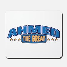 The Great Ahmed Mousepad