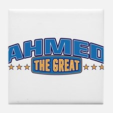 The Great Ahmed Tile Coaster