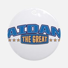 The Great Aidan Ornament (Round)