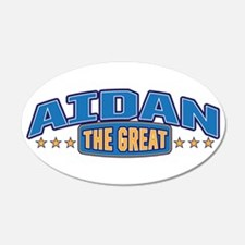 The Great Aidan Wall Decal