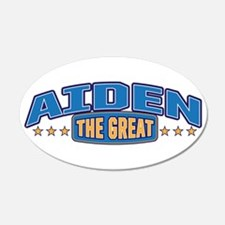 The Great Aiden Wall Decal