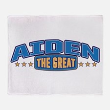 The Great Aiden Throw Blanket