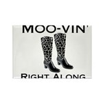 Moovin' Rectangle Magnet (10 pack)