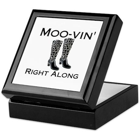 Moovin' Keepsake Box