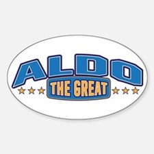 The Great Aldo Decal