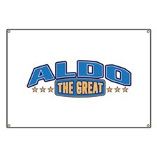 The Great Aldo Banner