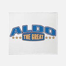 The Great Aldo Throw Blanket
