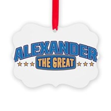 The Great Alexander Ornament