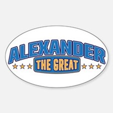 The Great Alexander Decal