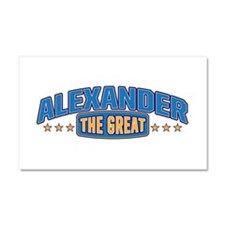 The Great Alexander Car Magnet 20 x 12