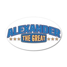 The Great Alexander Wall Decal