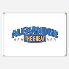 The Great Alexander Banner