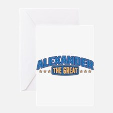 The Great Alexander Greeting Card