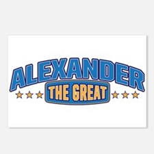 The Great Alexander Postcards (Package of 8)