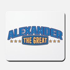 The Great Alexander Mousepad