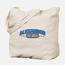 The Great Alexander Tote Bag