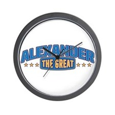 The Great Alexander Wall Clock