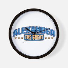 The Great Alexander Wall Clock