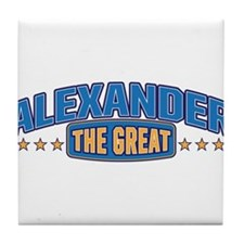The Great Alexander Tile Coaster