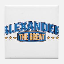 The Great Alexander Tile Coaster