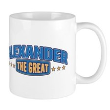 The Great Alexander Small Mugs