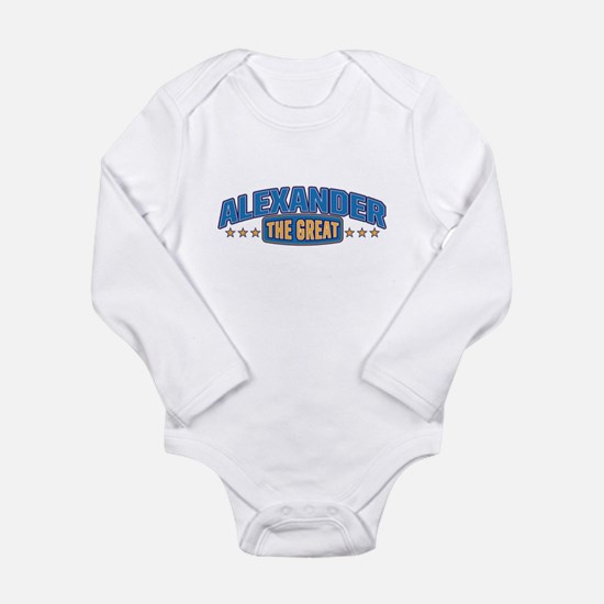 The Great Alexander Body Suit