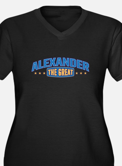 The Great Alexander Plus Size T-Shirt