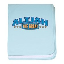 The Great Alijah baby blanket