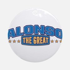 The Great Alonso Ornament (Round)