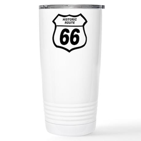 66 Sign Travel Mug