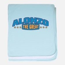 The Great Alonzo baby blanket