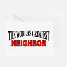"""The World's Greatest Neighbor"" Greeting Cards (Pa"