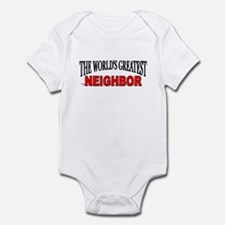 """The World's Greatest Neighbor"" Onesie"