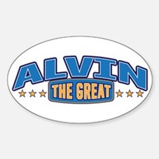 The Great Alvin Decal