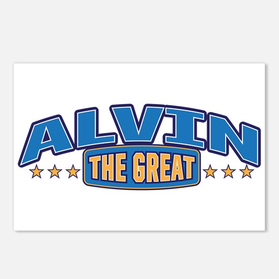 The Great Alvin Postcards (Package of 8)