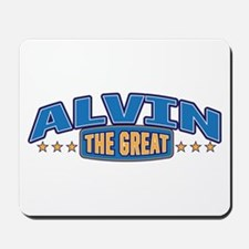 The Great Alvin Mousepad