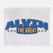 The Great Alvin Throw Blanket