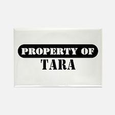Property of Tara Rectangle Magnet
