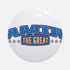 The Great Amir Ornament (Round)