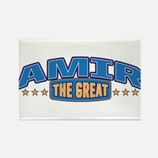 The Great Amir Rectangle Magnet
