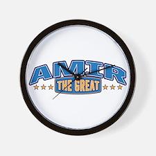 The Great Amir Wall Clock