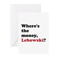 Movie Gear Big Lebowski Greeting Cards (Pk of 20)