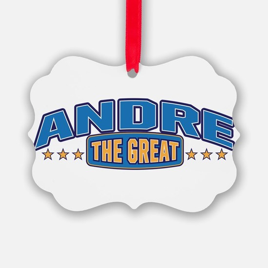 The Great Andre Ornament