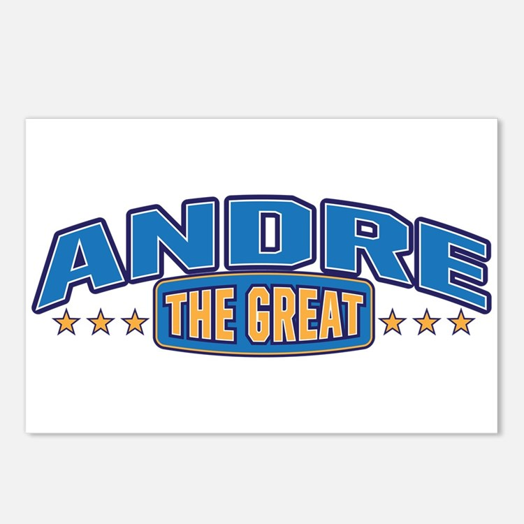 The Great Andre Postcards (Package of 8)