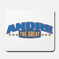 The Great Andre Mousepad