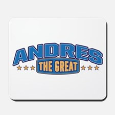 The Great Andres Mousepad