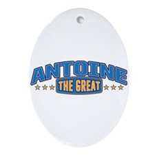 The Great Antoine Ornament (Oval)